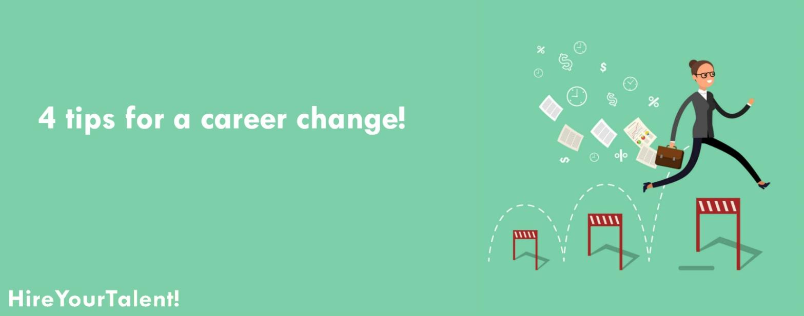 job change, career change