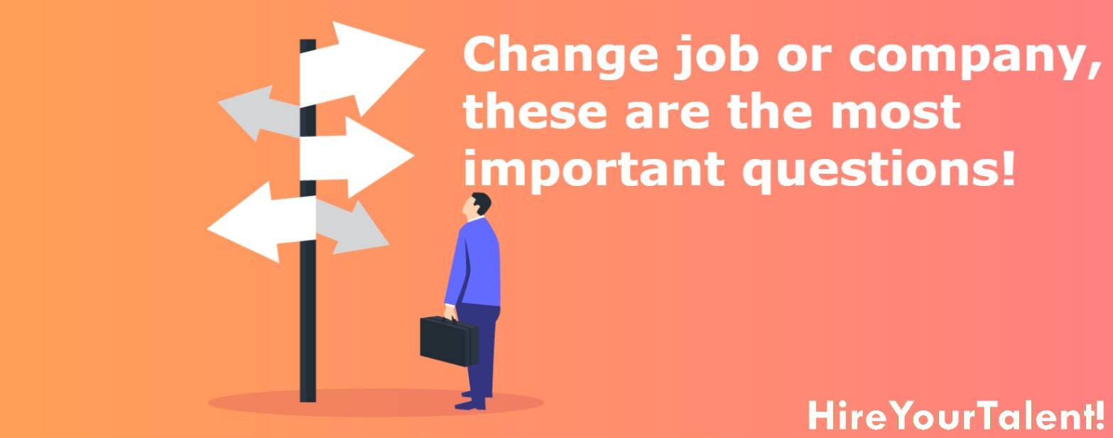 job change professional search